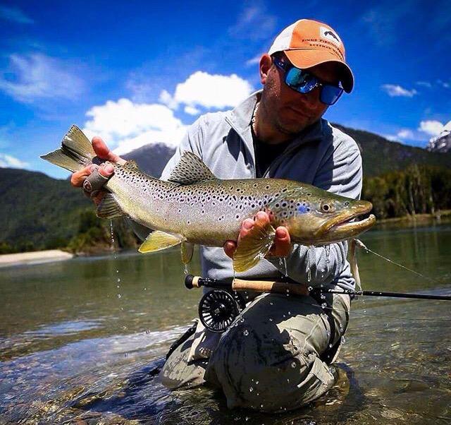 trucha pesca deportiva puelo